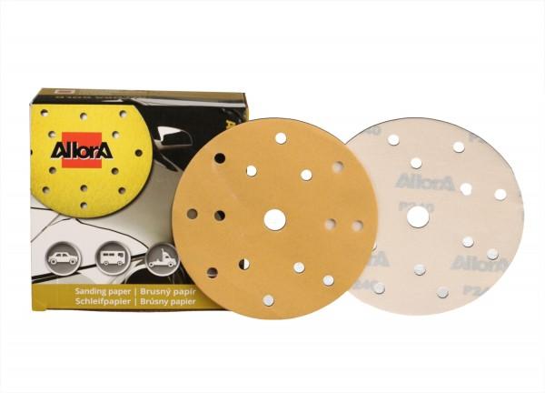 AllorA Gold Schleifscheibe D150mm 15-Loch