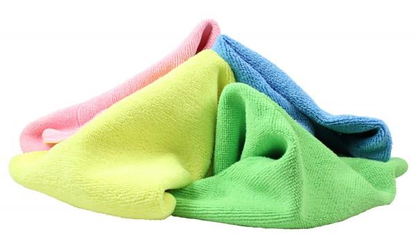 Mikrofasertuch Platin verschiedene Farben