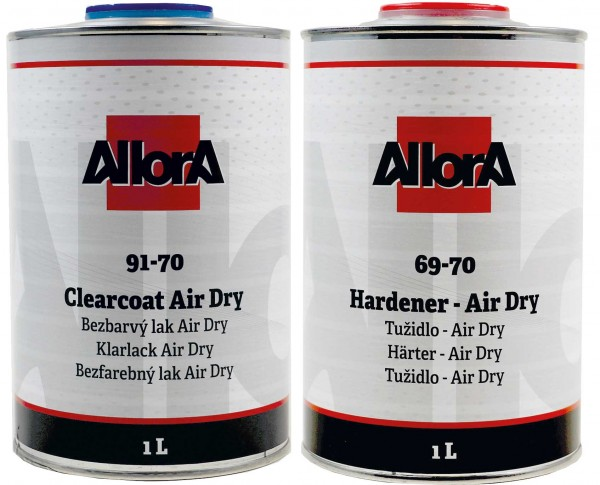 AllorA 2K Klarlack Air Dry 91-70 VOC Set