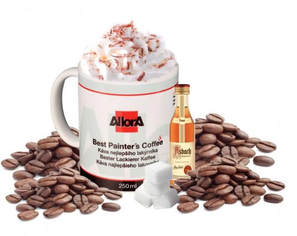"AllorA Kaffetasse in Set ""Best Painter's Coffee"""