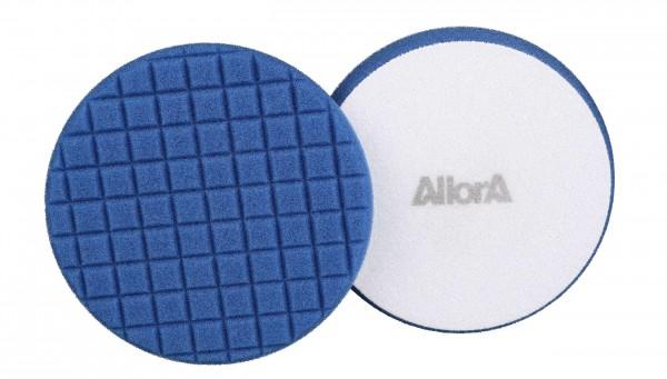 AllorA Polierpad blau, D137 gewürfelt