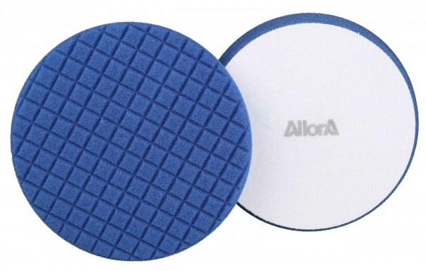 AllorA Polierpad blau, D180 gewürfelt